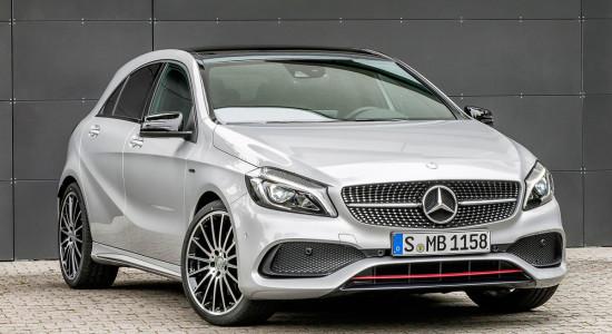 Mercedes-Benz A-Class (W176) на IronHorse.ru ©