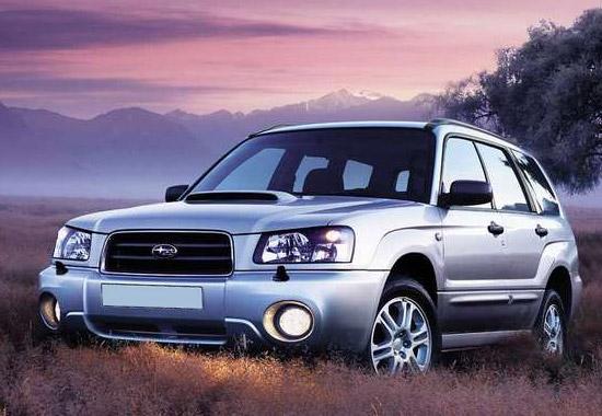 Subaru Forester 2 (SG) технические характеристики и обзор с фото