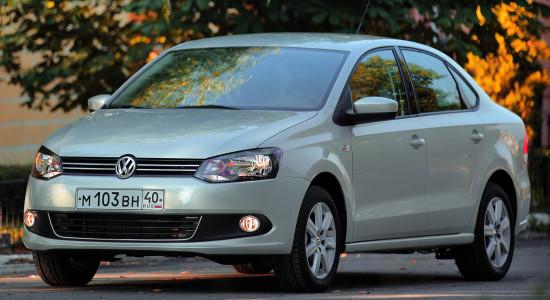 Volkswagen Polo Sedan (2010-2014) на IronHorse.ru ©