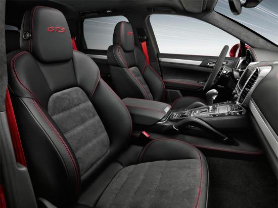 интерьер салона Porsche Cayenne GTS 2015-2016
