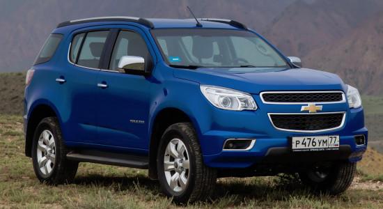 Chevrolet Trailblazer 2 (2012-2016) на IronHorse.ru ©