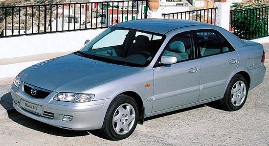 седан Мазда 626 1999-2002