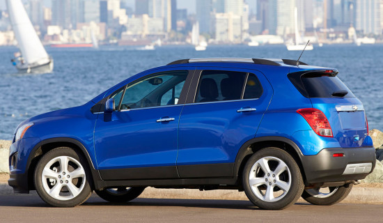 Chevrolet Tracker 2015-2016