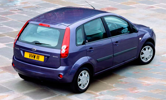 Форд Фиеста 5