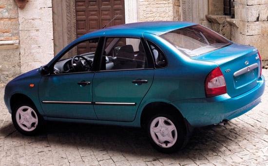 Lada Kalina седан (ВАЗ-1118)