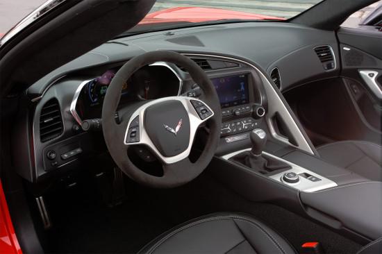 интерьер Corvette C7