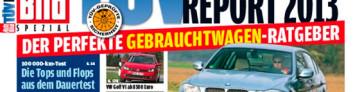 Рейтинг надёжности автомобилей 2013 года (TUV Report) на IronHorse.ru ©