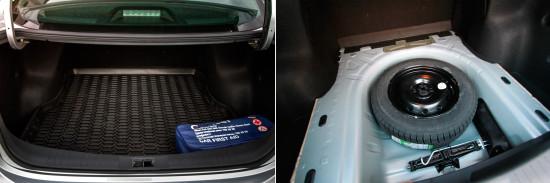 багажное отделение Nissan Almera Sedan