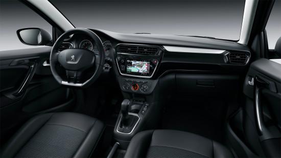 передняя панель обновленного Peugeot 301