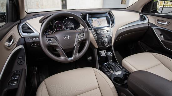 интерьер салона Hyundai Grand Santa Fe