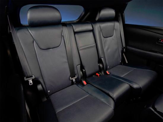 салон Lexus RX350 (AL10)