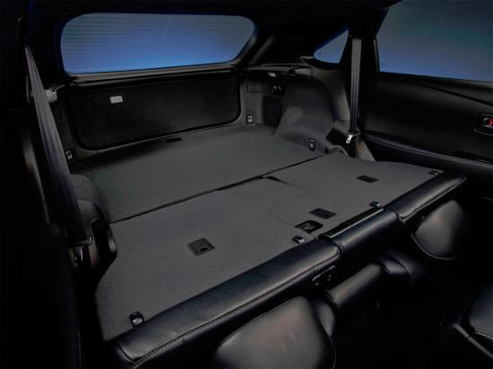 багажное отделение Lexus RX350 (AL10)