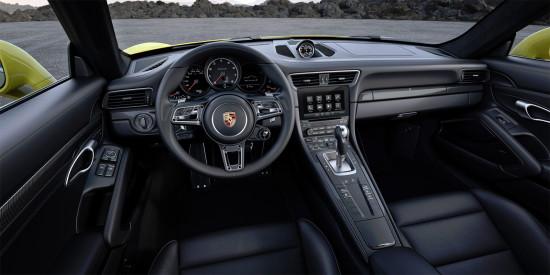 интерьер салона Porsche 911 Turbo (991)