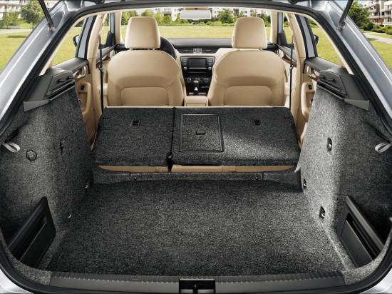 багажник лифтбэка Skoda Octavia 3