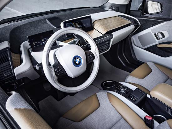 интерьер BMW i3
