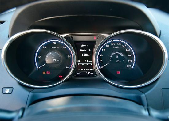 приборный колодец Hyundai ix35