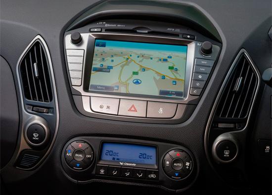 мультимедиа Hyundai ix35
