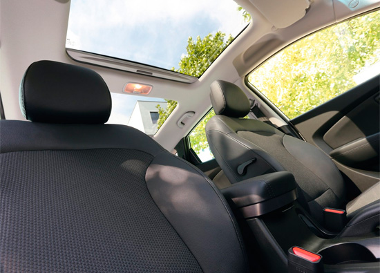 передние сиденья Hyundai ix35