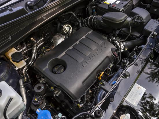 под капотом дизельного ix35