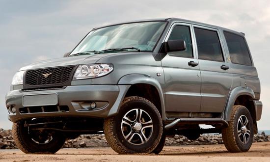 УАЗ Патриот 2014 модельного года
