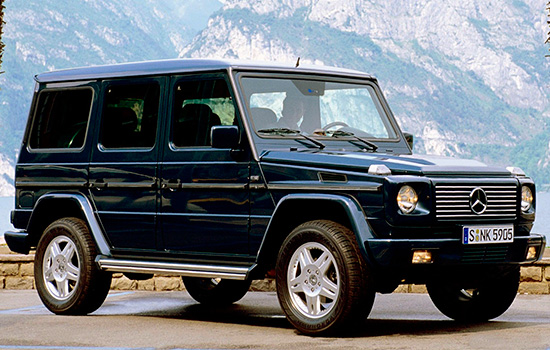 Mercedes-Benz G-class W463 1997