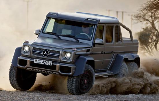 Mercedes Gelandewagen 6x6