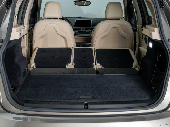 багажное отделение BMW 2 Active Tourer