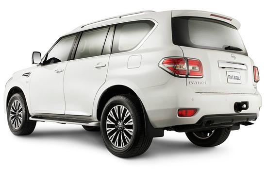 Nissan Patrol Y62 2014-2015