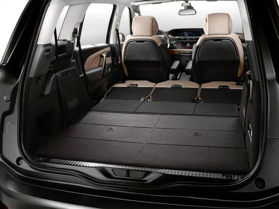 багажное отделение Citroen Grand C4 Picasso 2