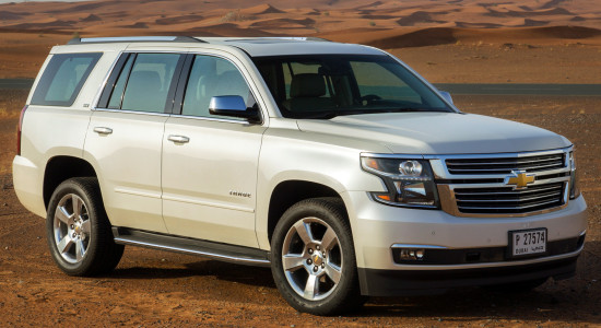 Chevrolet Tahoe 4 (%year%)