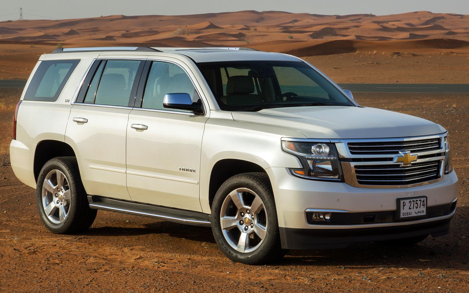 Chevrolet Tahoe (2017-2018) цена и характеристики, фотографии и обзор