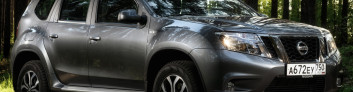 Nissan Terrano (2016-2017) на IronHorse.ru ©