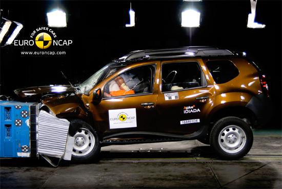краш-тест Renault Duster