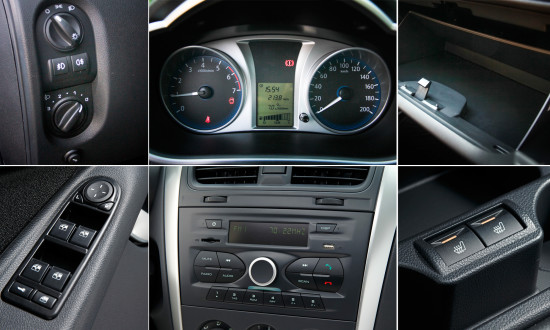 элементы управления в Datsun on-DO