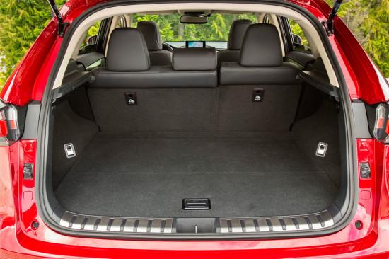 багажный отсек Lexus NX 200