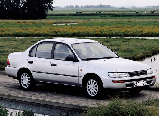 Описание, Toyota Corolla