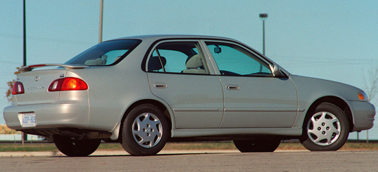 Toyota Corolla 8-го поколения