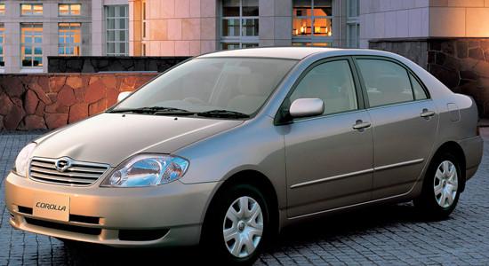 Toyota Corolla E120 на IronHorse.ru ©