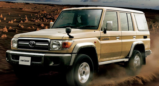 Toyota Land Cruiser 70 на IronHorse.ru ©