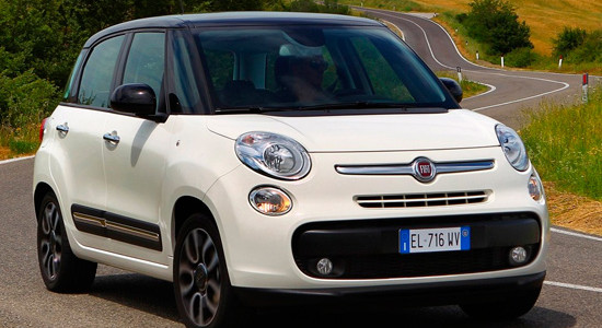 Fiat 500L на IronHorse.ru ©