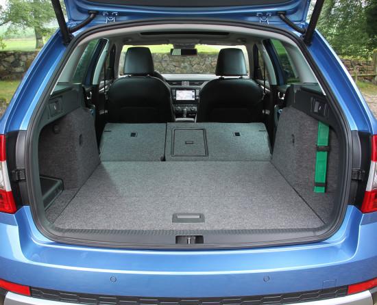багажник Octavia Scout (5E)