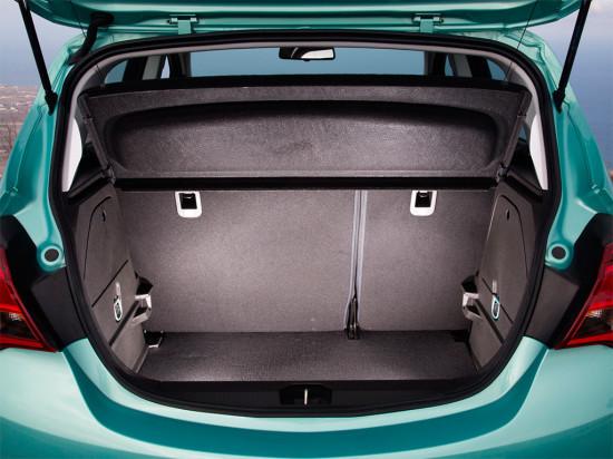 багажник пятидверки Opel Corsa E