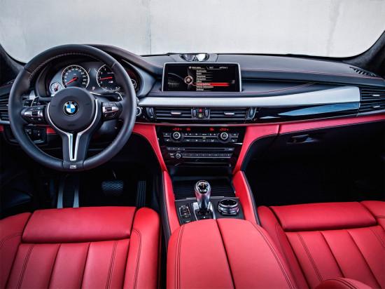 интерьер салона BMW X5 M F15