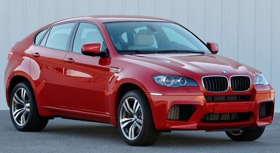 Габаритные размеры BMW X6 и вес