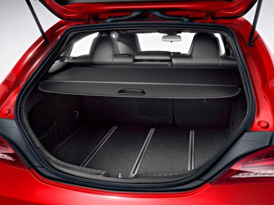 багажное отделение Mercedes-Benz CLA Shooting Brake