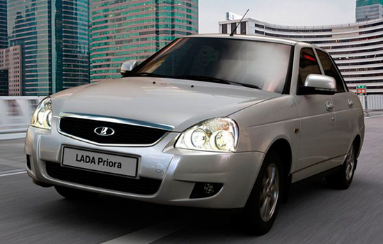 Lada Priora Теперь - с хорошим мотором - тест-драйв