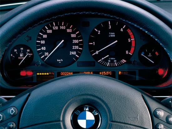 щиток приборов для BMW e38