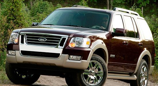 Ford Explorer 4 (2005-2010) на IronHorse.ru ©