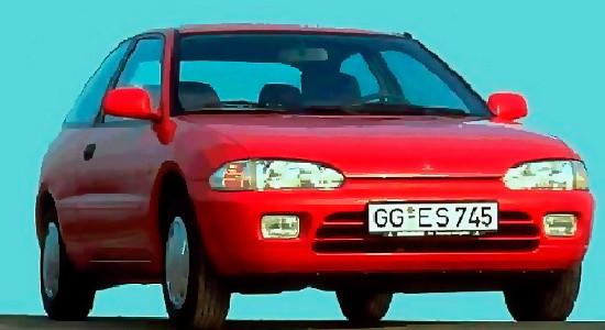 Mitsubishi Colt 4 (1991-1996) на IronHorse.ru ©