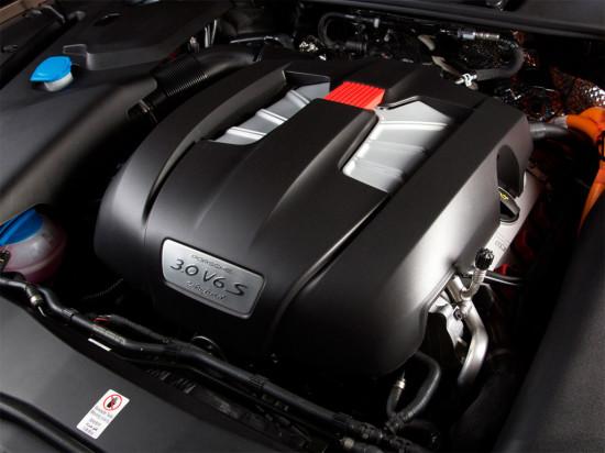 под капотом Porsche Cayenne S E-Hybrid